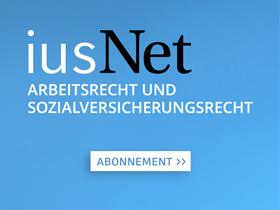 iusNet Arbeitsrecht und Sozialversicherungsrecht