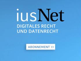 iusNet Digitales Recht und Datenrecht